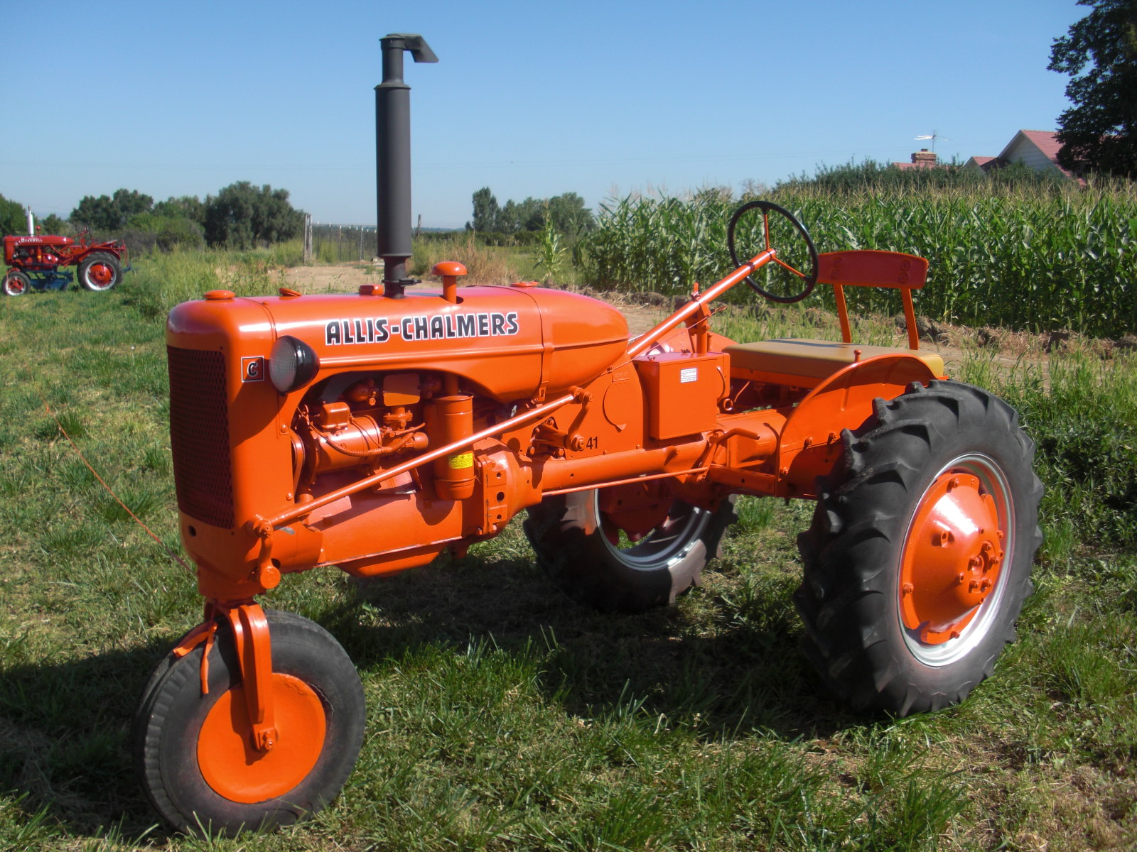 Allis Chalmers Tractor : Oil suitable for allis chalmers tractor including w